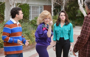 I LOVED The Goldbergs! Wendi McLendon-Covey is a queen.