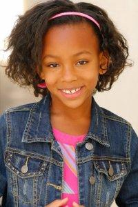 Sydney Mikayla (set to play Gabby Douglas as a child)