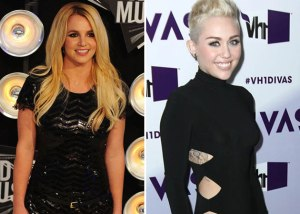 Britney & Miley together again