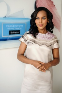Olivia Pope is going to help in the fight for clear, healthy skin