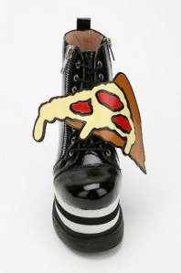 pizza feet