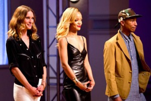 Erin Wasson, Rihanna, & Pharrell Williams