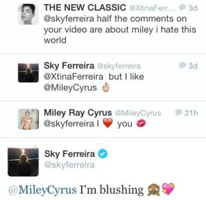 sky and miley