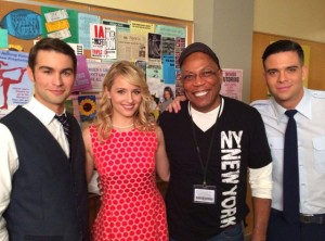 Crawford, Agron, Paris Barclay (this man is a living industry legend!), & Mark Salling