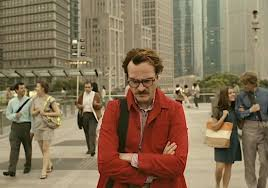 "Joaquin Phoenix being pensive in ""Her"""