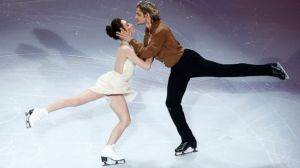 Meryl Davis and Charlie White  (Photo Credit: Jared Wickerham/Getty Images)