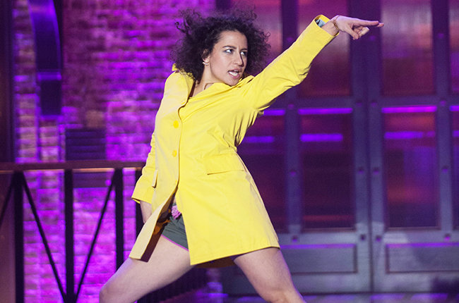 Lip Sync Battle on January 16, 2015 with Abbi Jacobson and Ilana Glazer.